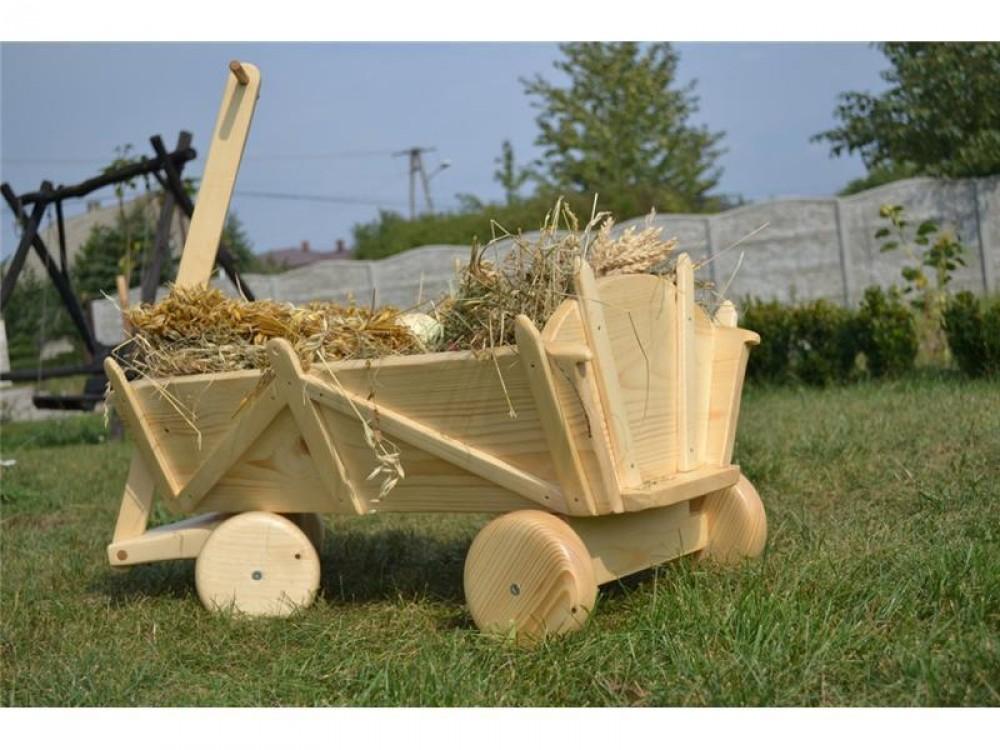 Zahradní dekorační vozík