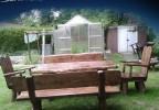 Zahradní nábytek z masivu Chopok