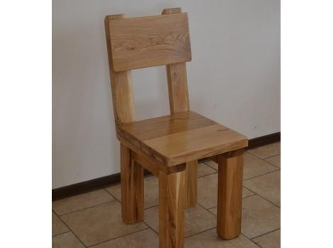 Masivní dubová židle Bruno