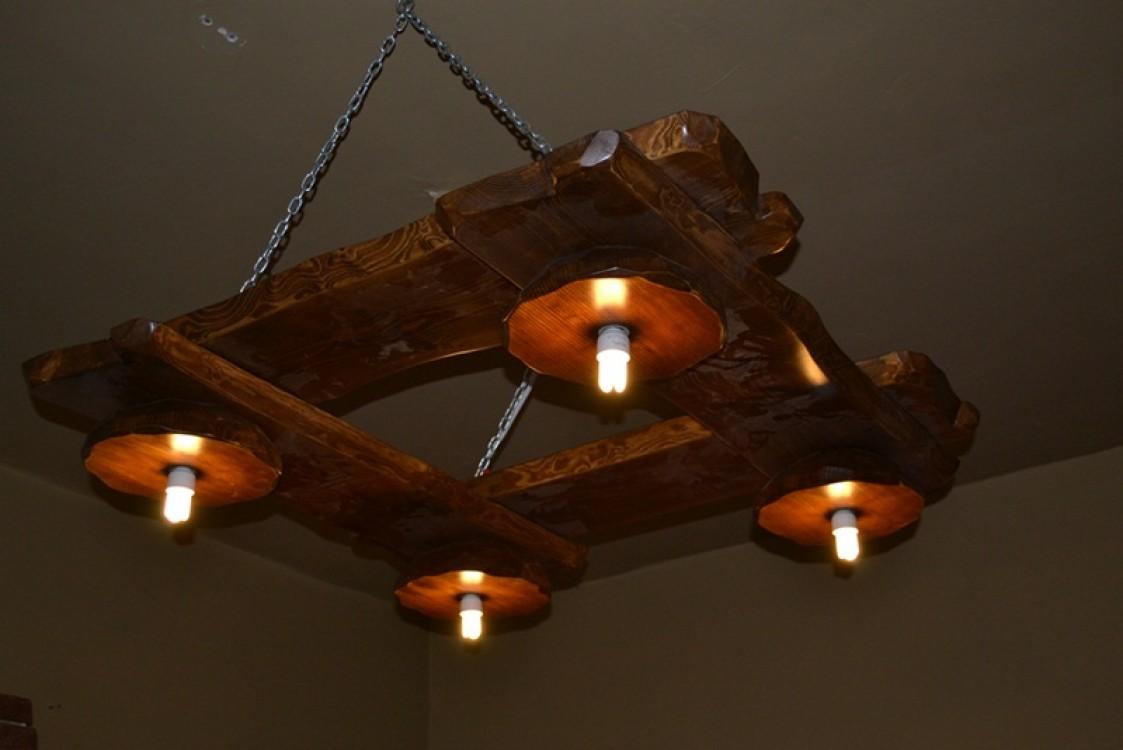 Masivní osvětlení do interieru