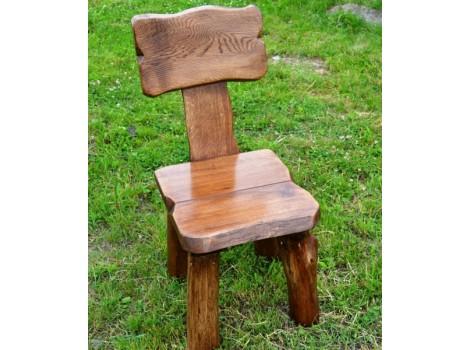 Masivní židle Karel - dub