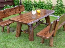 Zahradní masivní dubový nábytek Severín