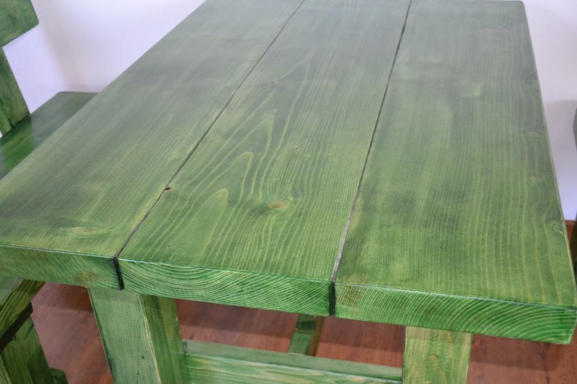 Zahradní nábytek z masivu sestava Pivec