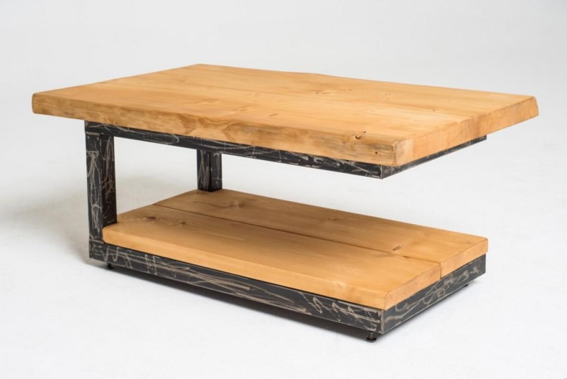 Industriální stolek Amandus