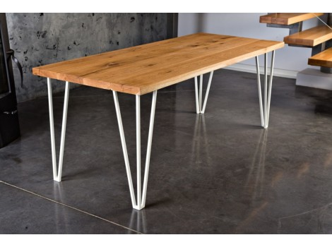 Designový masivní stůl Chris