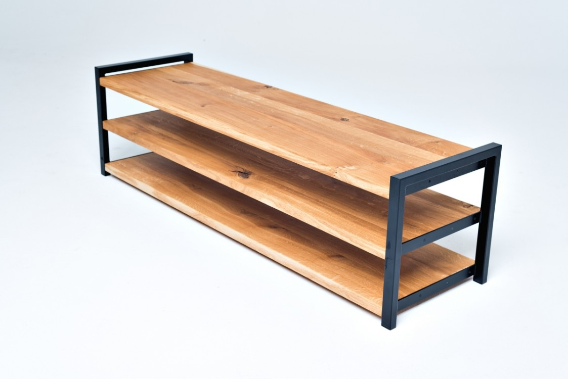Industriální TV stolek ALBIN