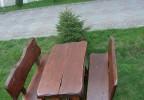 Zahradní nábytek z masivu Klíč