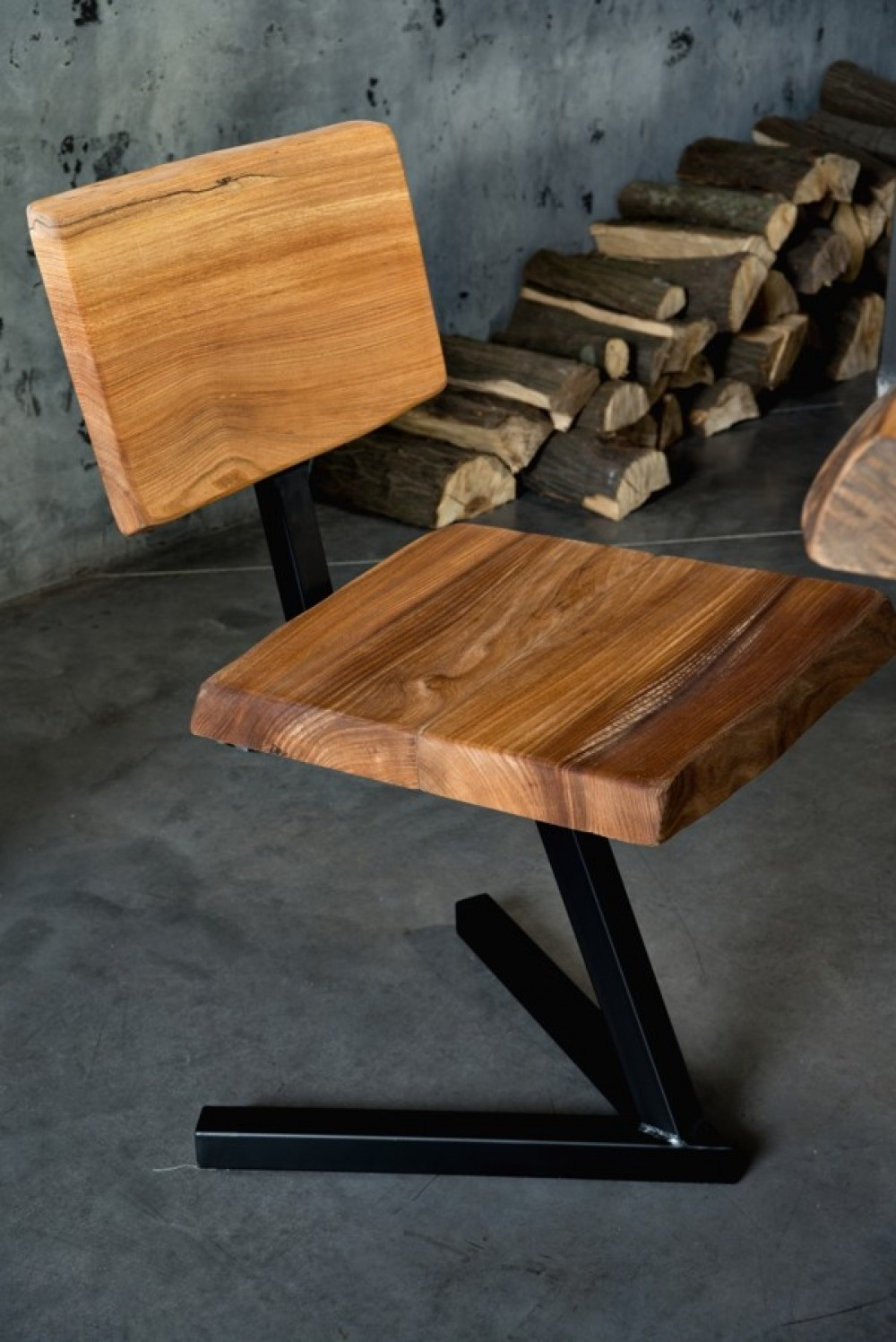 Industriální židle Abbie