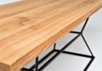 Moderní masivní stůl Willy
