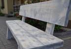 Zahradní masivní lavice Orlík