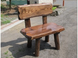 Zahradní masivní židle Sobi