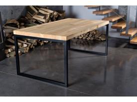 Designový masivní jídelní stůl Norris