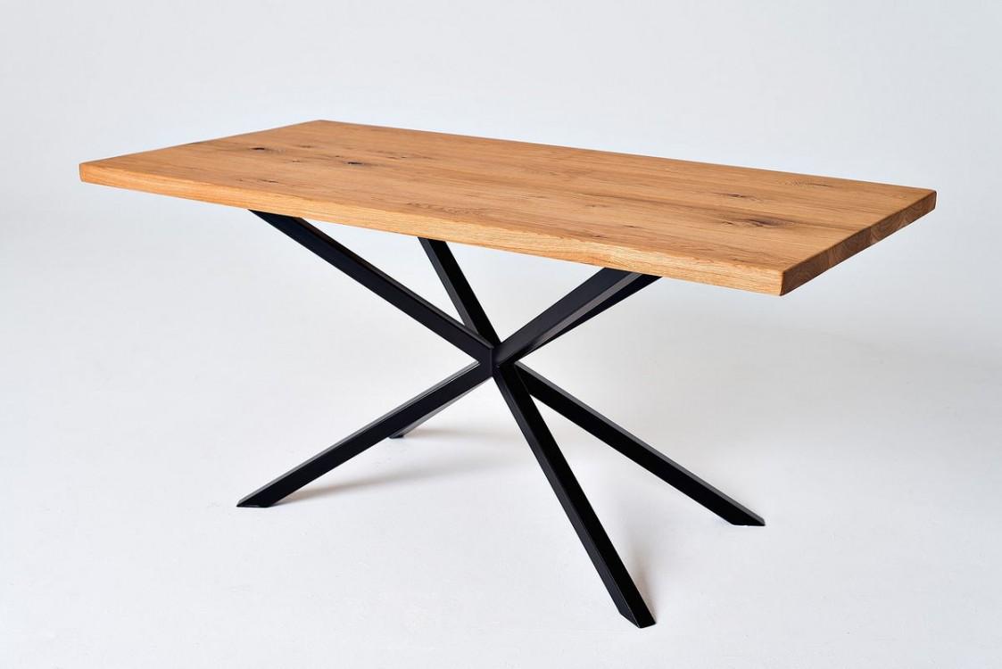 Jídelní masivní stůl Brett