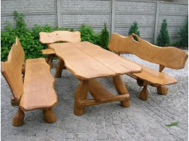 Masivní nábytek,  sestava Telč