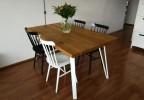 Designový masivní jídelní stůl Joshua