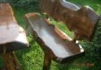 Zahradní nábytek z masivu sestava Krušňák