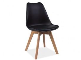 Designová židle Kross - černá