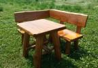 Zahradní nábytek z masivu sestava Rohák