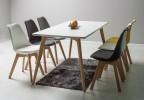 Designová židle Kross - šedá