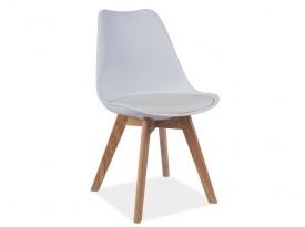 Designová židle Kross - bílá