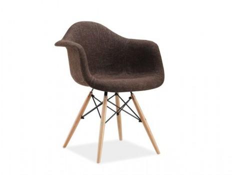 Designová židle Yukon -  Hnědá