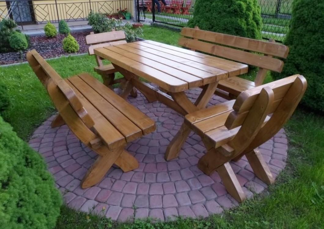 Dřevěný zahradní nábytek Bavorak