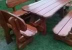 Zahradní nábytek z masivu Polana