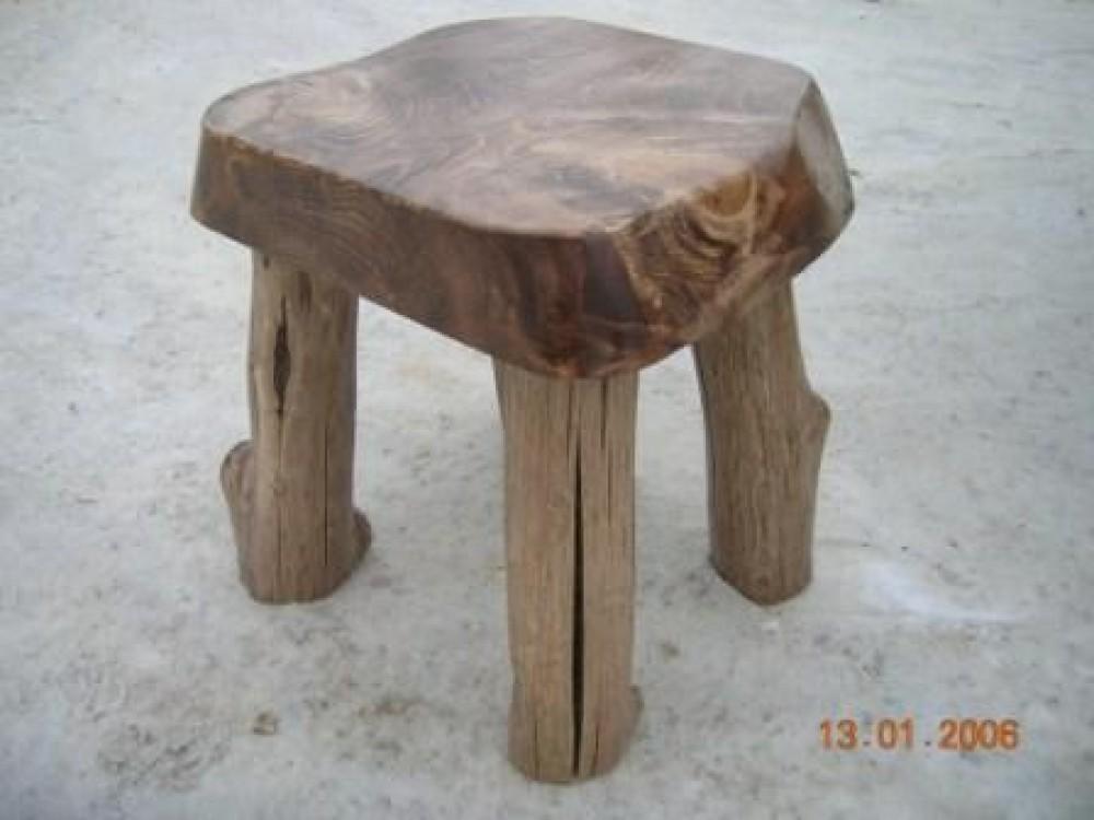 Masivní židle Gerlach