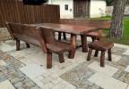 Dřevěná zahradní sestava Radegast