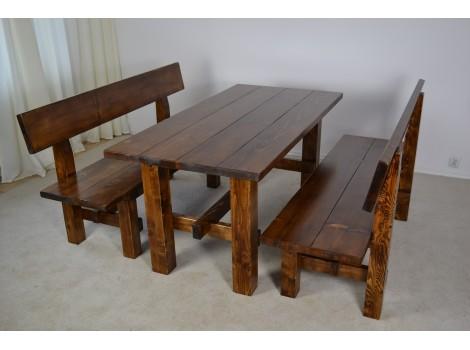Dřevěný masivní set Orel