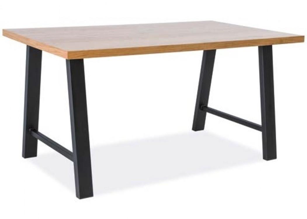 Designový jídelní stůl z masivu Ted
