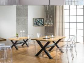Designový jídelní stůl z masivu Reynold