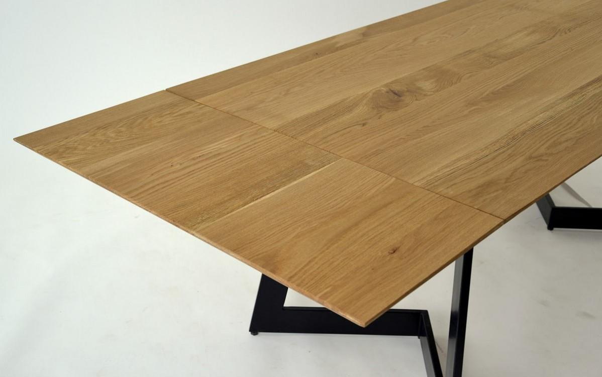 Rozkládací jídelní stůl z masivu Tom