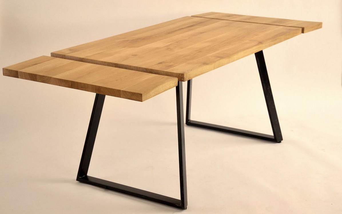 Rozkládací jídelní stůl z masivu Ben