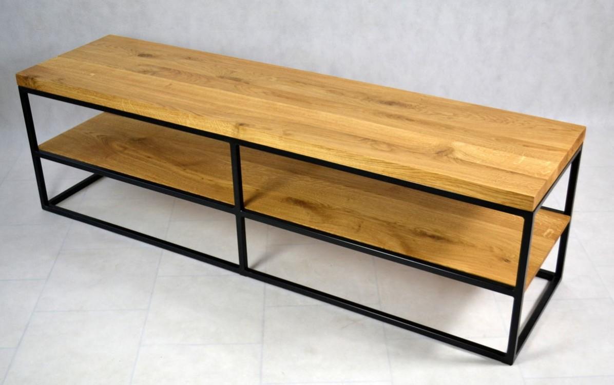 Dubový televizní stolek Alfie