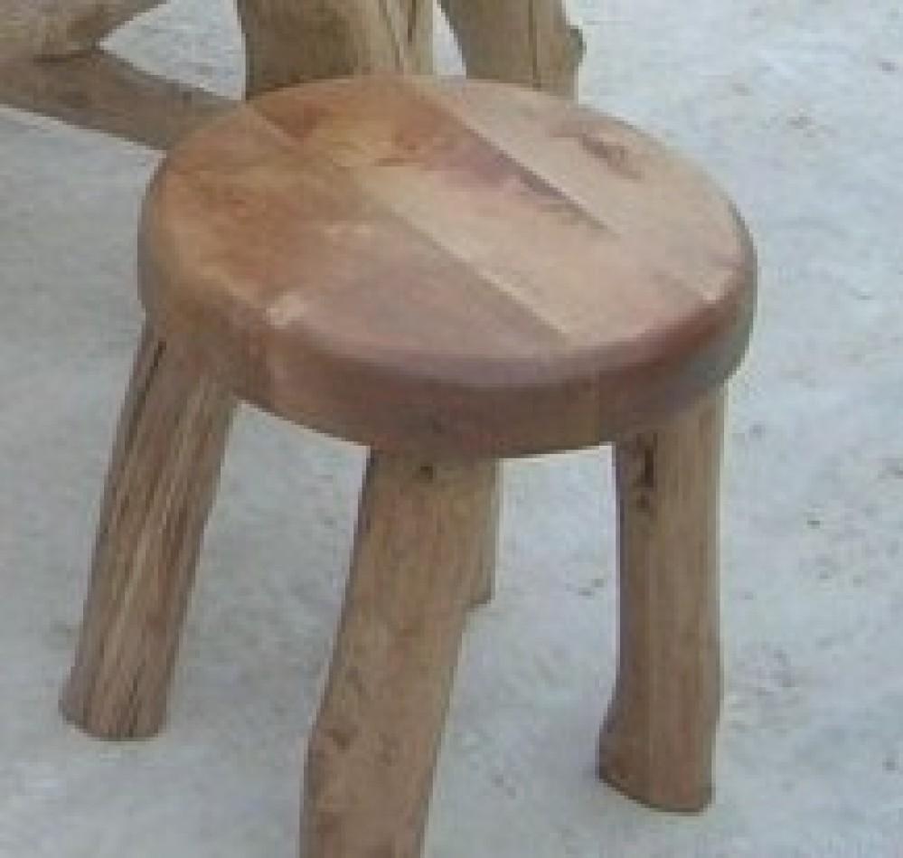 Zahradní masivní židle Rohák
