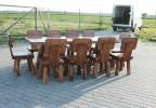 Zahradní nábytek z masivu Rohak