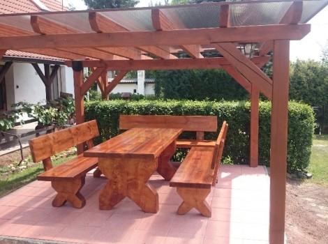 Zahradní masivní nábytek Magura