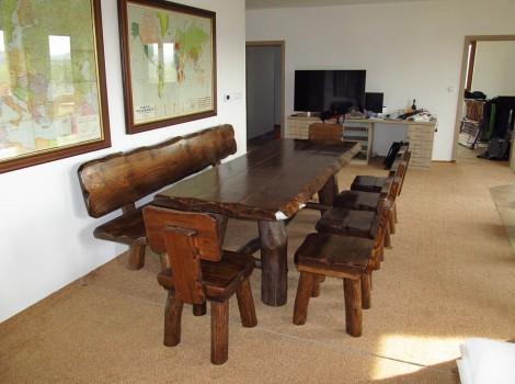 Zahradní masivní nábytek Sosna